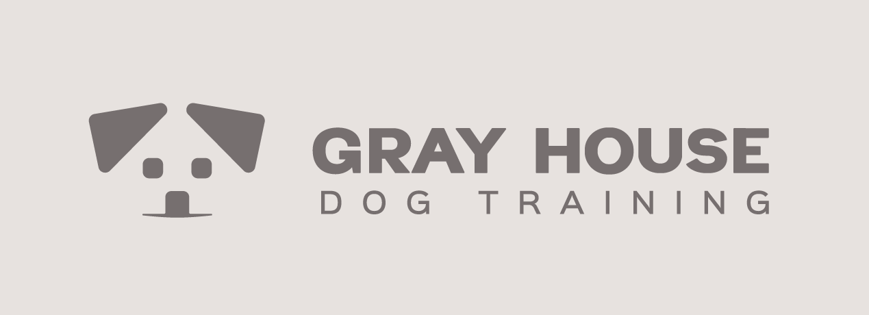 Gray House Dog Training Inline Logo